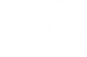 Artists Network Logo 20th white