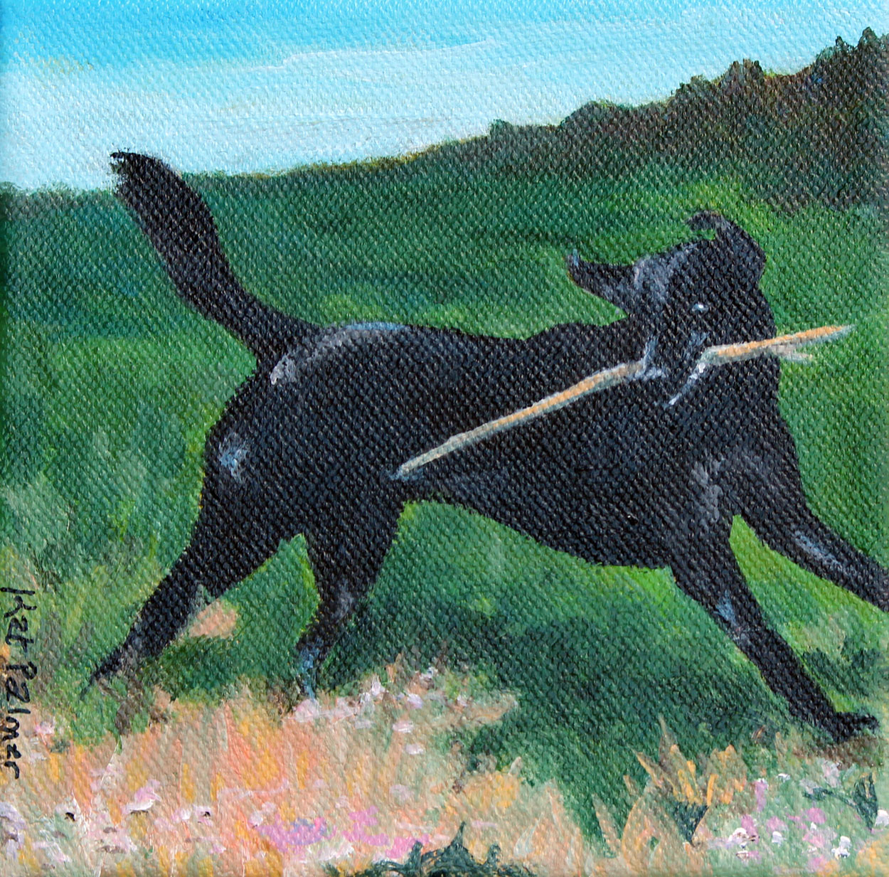 KatherinePalmerDog-with-big-stick